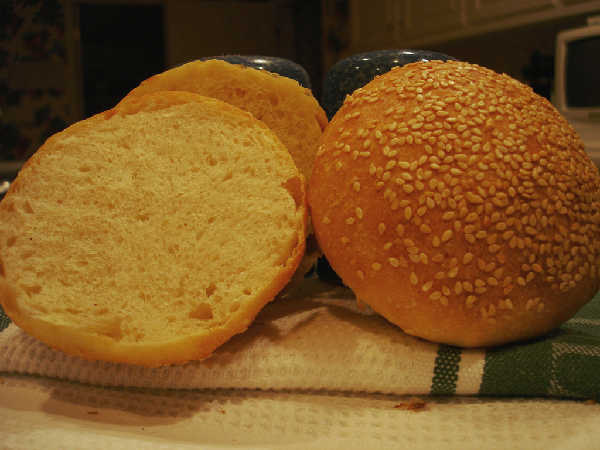A Hamburger Bun