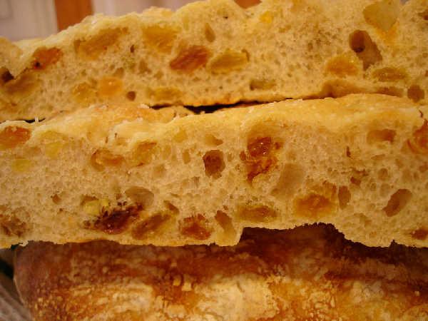 Sourdough Focaccia Crumb