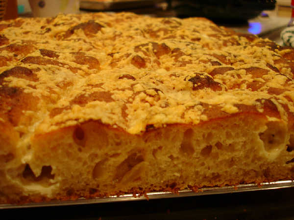 Savory Sourdough Focaccia