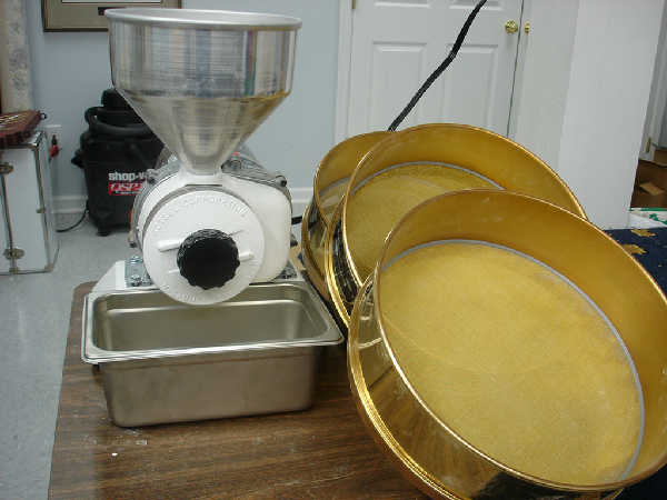 Retsel Mill and Brass Sieves