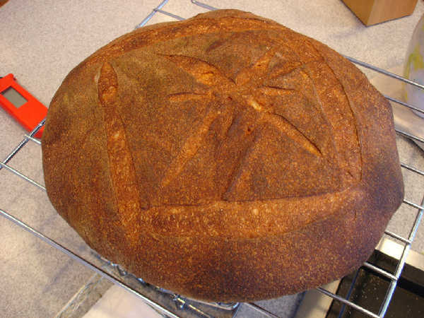 Mixed Flour Miche (2)