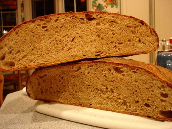 Mixed Flour Miche (2) Crumb (a)
