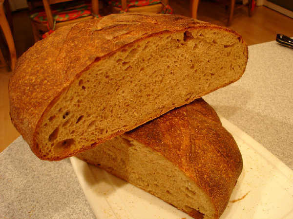 Mixed Flour Miche(2) Crumb (b)