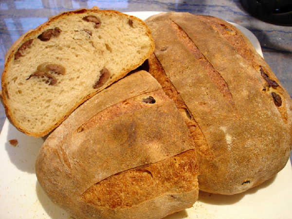 Olive Bread - Sourdough Yeast Hybrid (2)