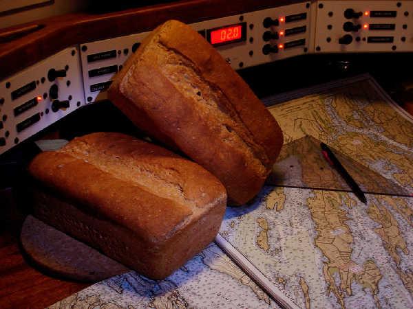 Seawater Sourdough Wheat Bread