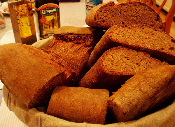 100% Whole Grain Hearth Breads